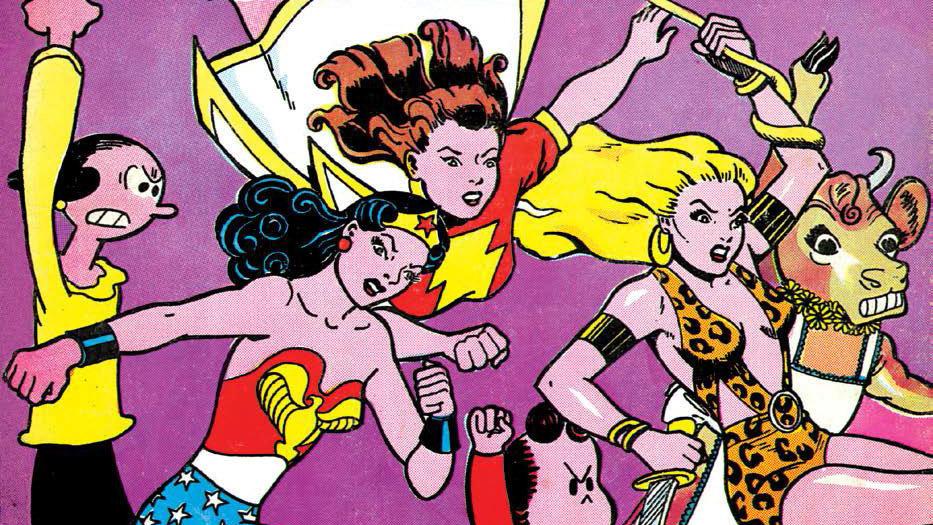Wonderwoman tegneserie sex