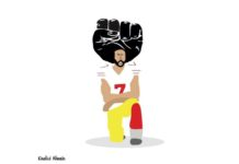 Colin Kaepernick Khalid Albaih