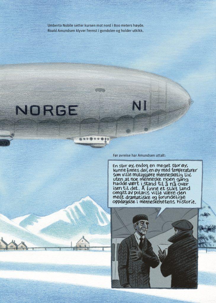 Roald Amundsen Oppover