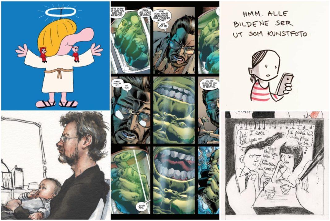 Årets beste tegneserier 2018