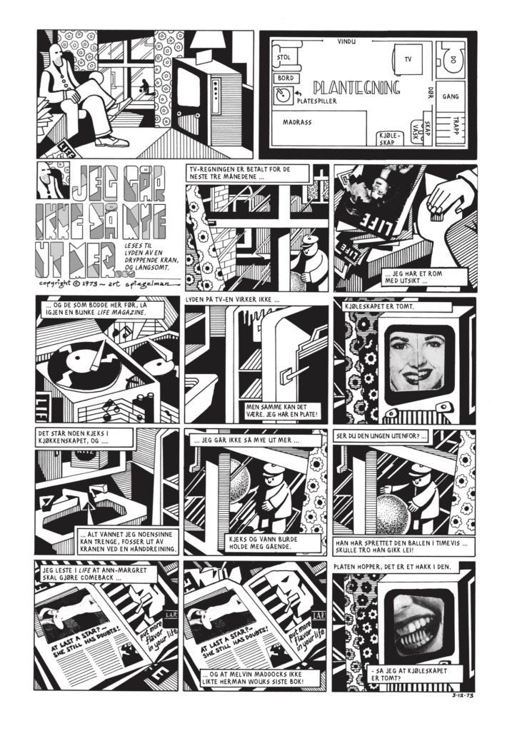 Art Spiegelman Breakdowns