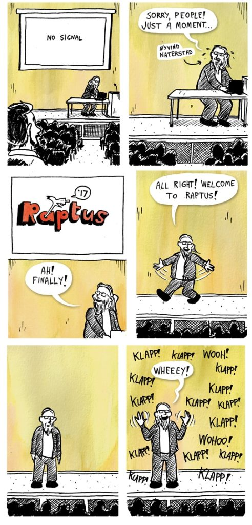 Tegneseriefestival, raptus, stavås