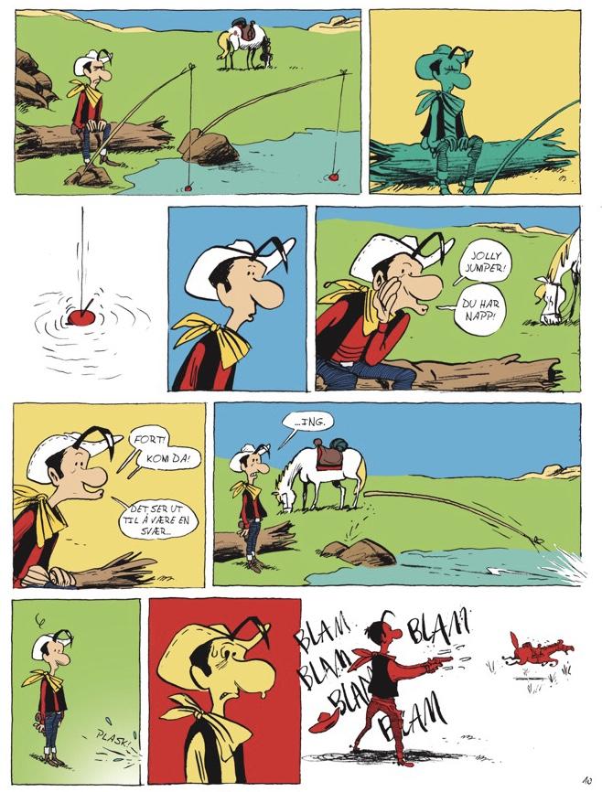 Lucky Luke Jolly Jumper svarer ikke