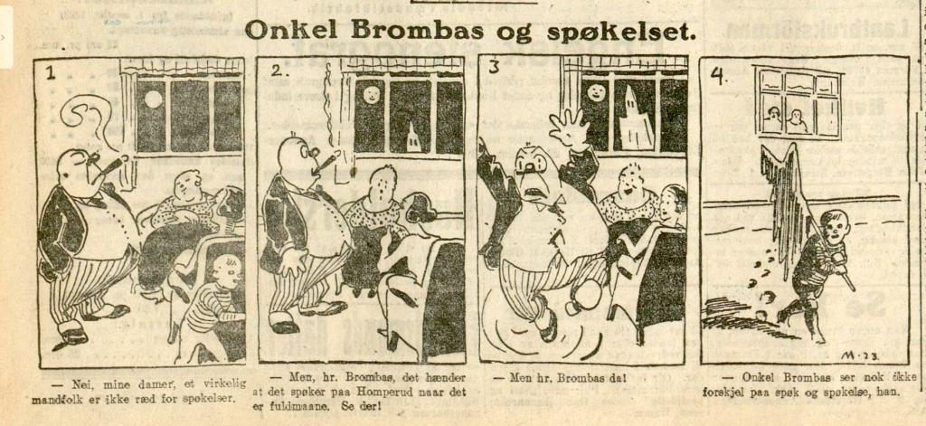 Onkel Brombas og spøkelset av Ivar Mauritz-Hansen.