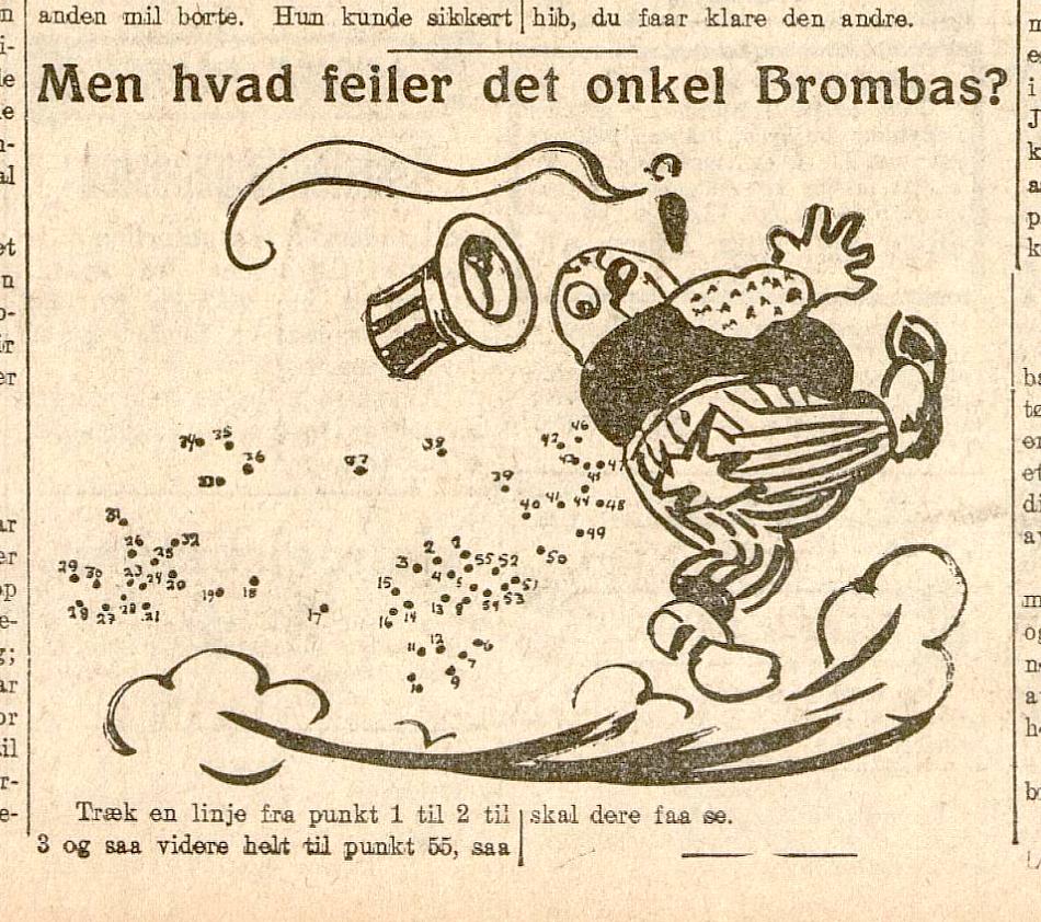 Men hva feilder det onkel Brombas av Ivar Mauritz-Hansen.