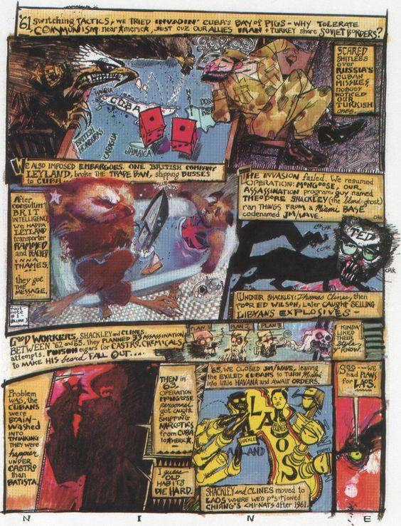 I innesittingens ånd graver Aksel Kielland frem en ikke spesielt god – men til gjengjeld veldig alternativ – Alan Moore-tegneserie fra bokhylla.
