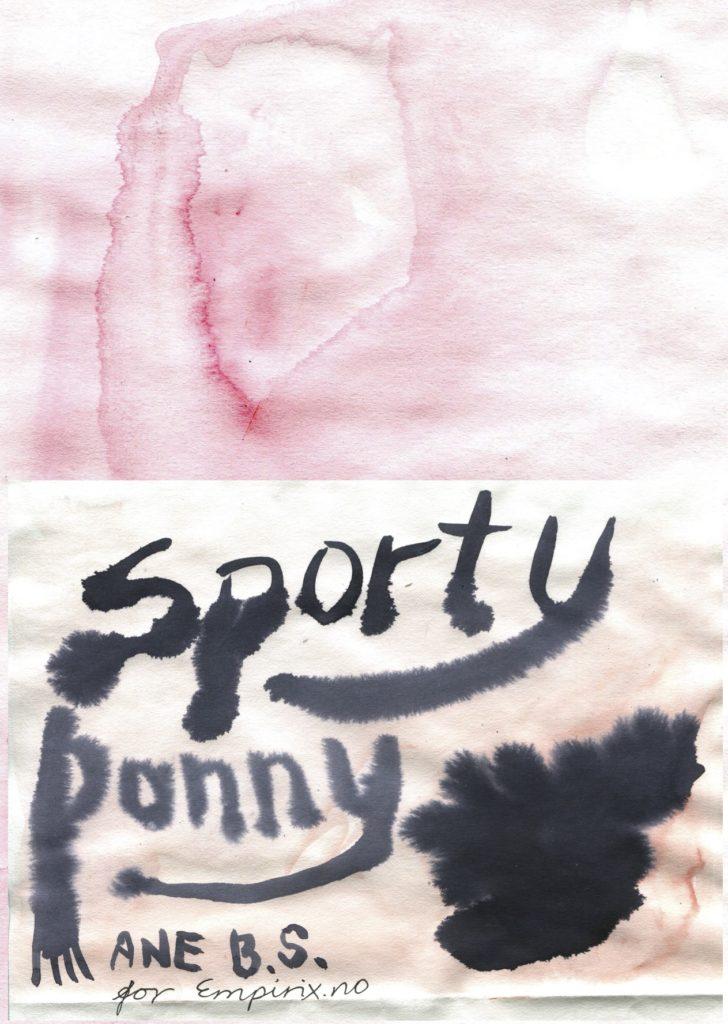 Sporty Ponny av Ane Barstad Solvang