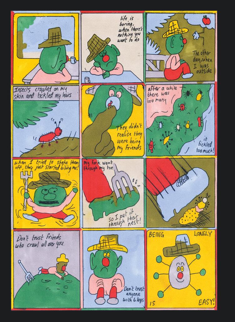 Fra Tummy Bugs av Leomie Sadler (Breakdown press)