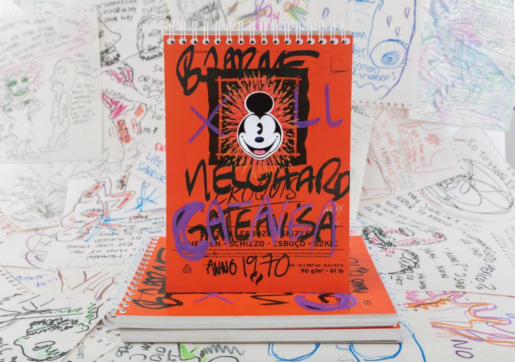 Bjarne Melgaard tegneserie
