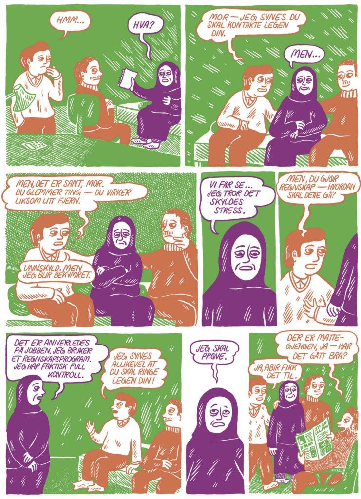 Fra Anders Kvammens Jeg husker ikke... Historier om demens
